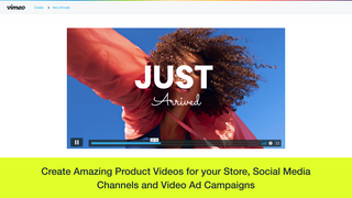 Create amazing product videos for your store, social media chann