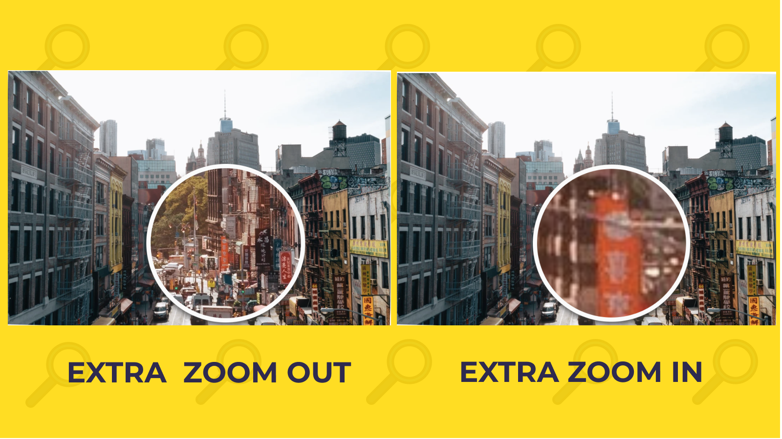 Extra zoom-out vs Extra zoom-in