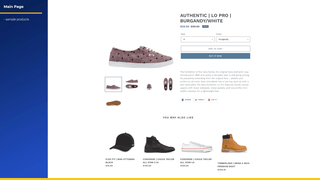 Shopify Test Data Sample Shoes