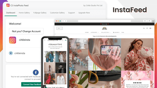 Instagram Feed connect with store