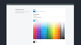Fully customizable to match your existing theme