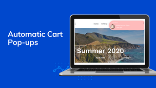 automatic cart pop-ups