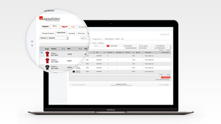 magnalister app: seamlessly integrated in Shopify's admin panel