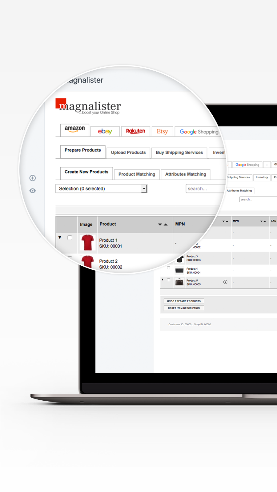 Product Preparation for Shopify and eBay, Amazon & Co