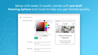 Shopify mobile rewards and loyalty program