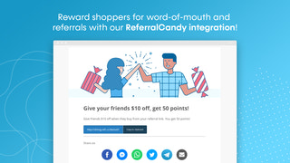 Shopify referral program app