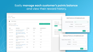 Shopify customer points and rewards
