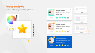 Product Reviews App  Popup Review