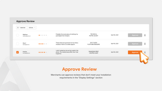 Product Reviews For Approve Review