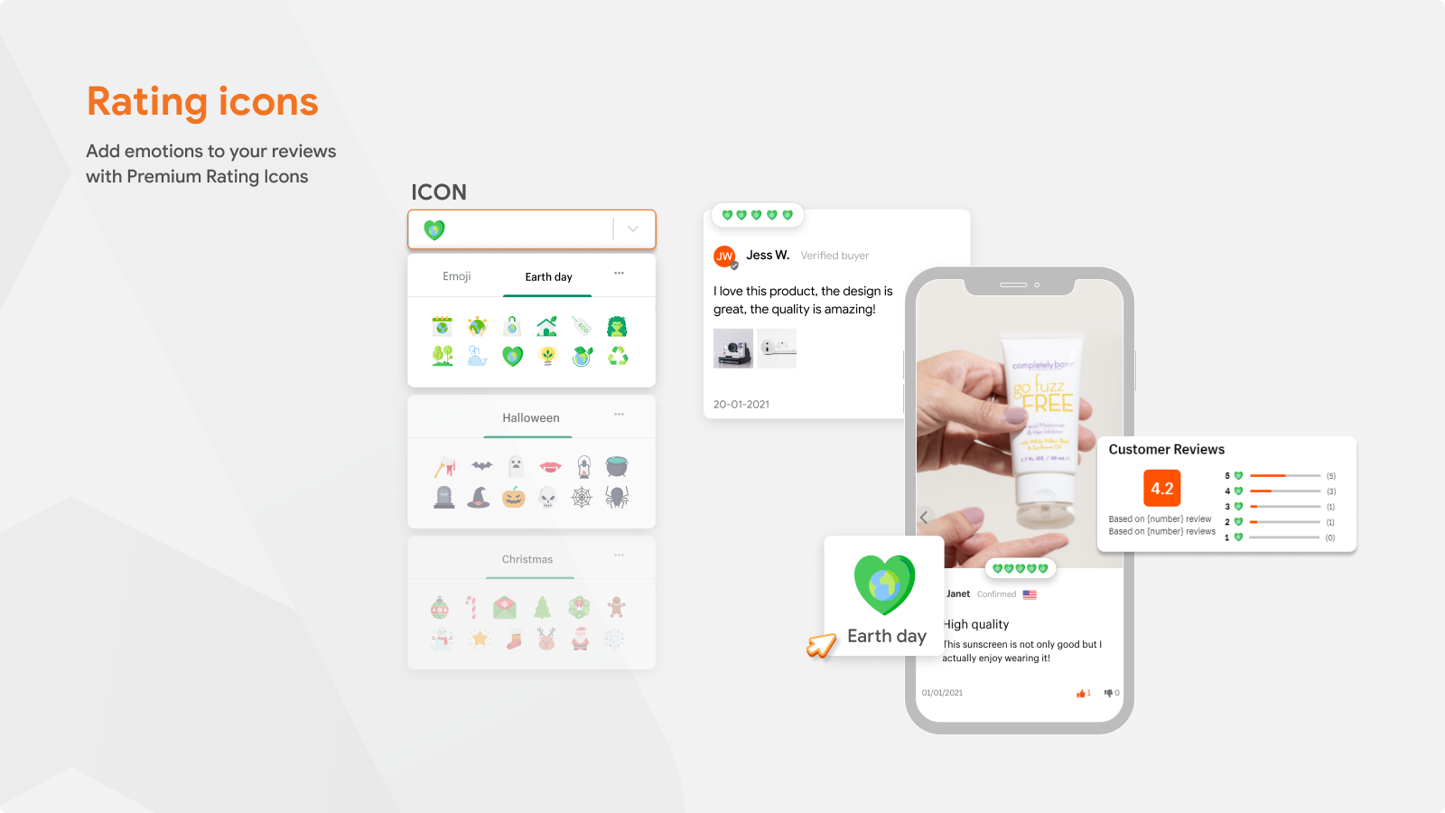 Product Reviews App For Rating Icon