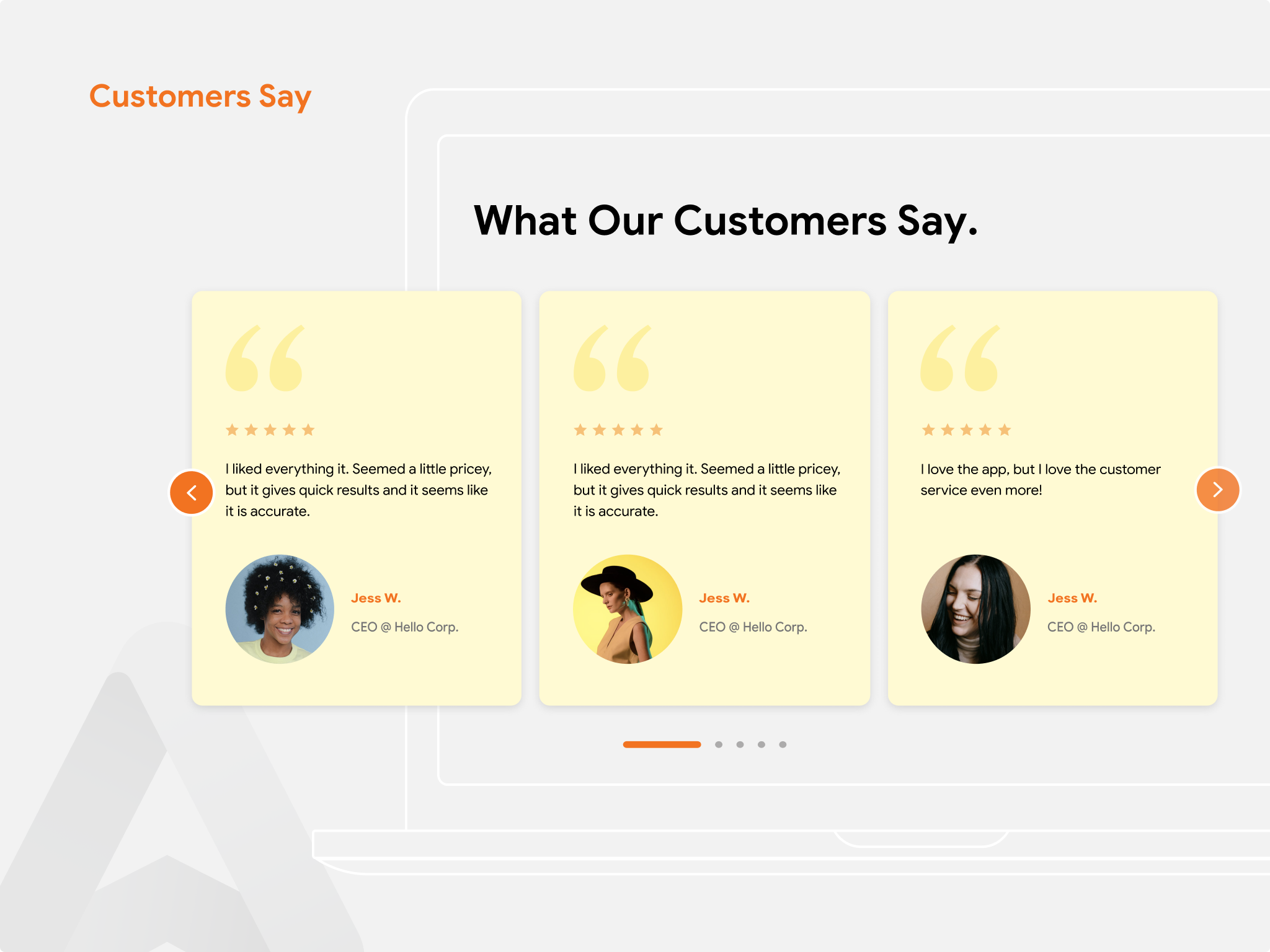 Product Review App For Customers Say