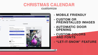 Christmas Calendar sale boost - customize