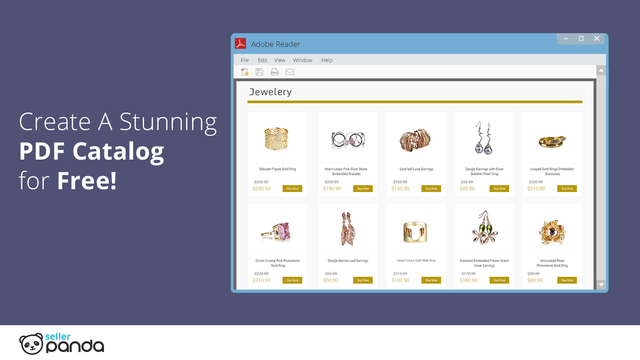 Create stunning PDF catalog from your products!