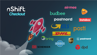 Unifaun nShift Checkout multi carrier app with 100+ carriers