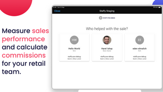 Shopify commissions, retail commisisons, payroll, time tracking
