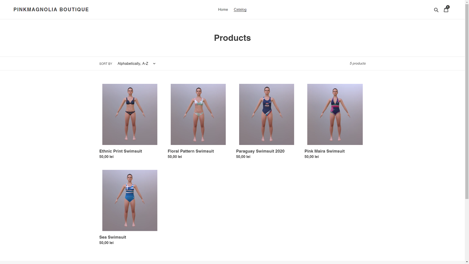 List of products in your shop linked to APOGY models