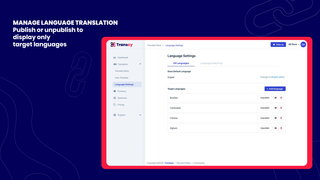 manage all languages translation easily in a single place
