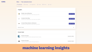 Fomo Insights and notifications feed