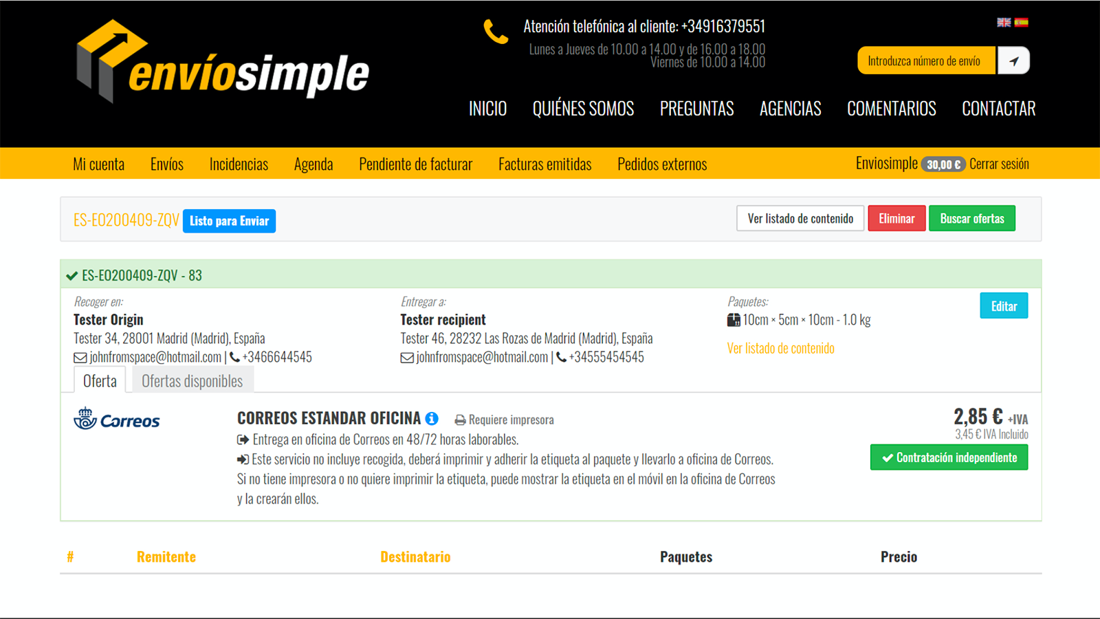 You can edit or change shipping services.