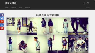 Instagram In-Shop Page