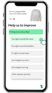 Return questions in the app - Get product insights