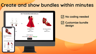 Product Bundle on front end
