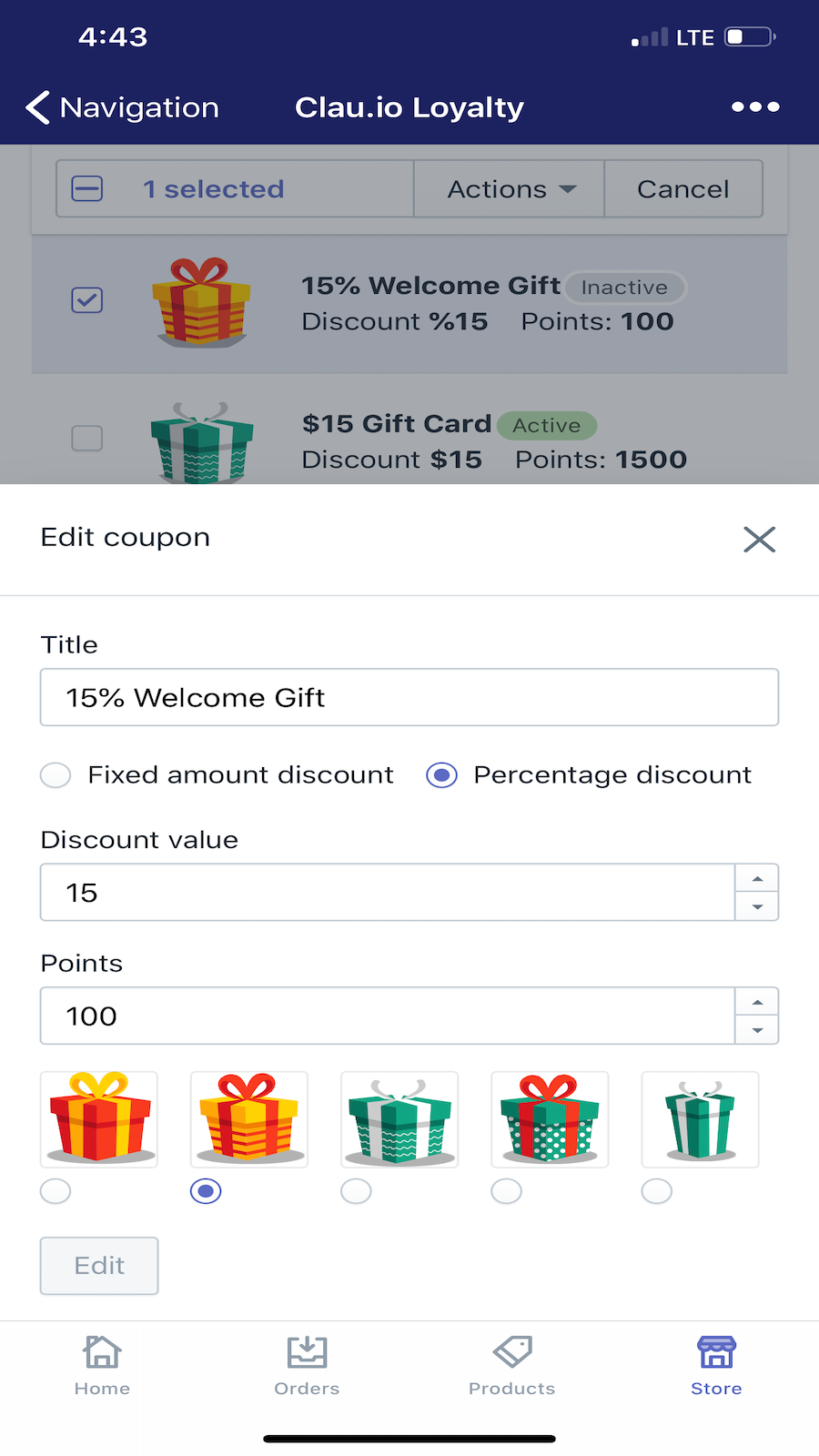 Edit your benefits on the go