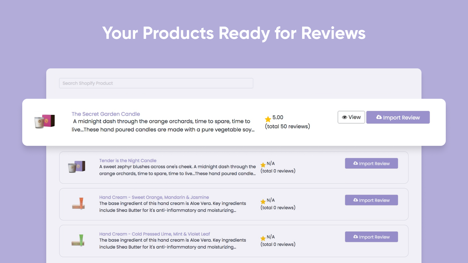 Your Products Ready for Reviews