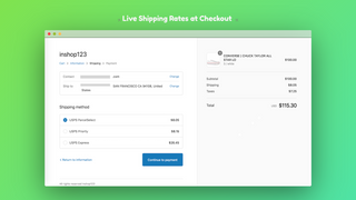 Live checkout rates on Storefront - Powered by ShipBlink
