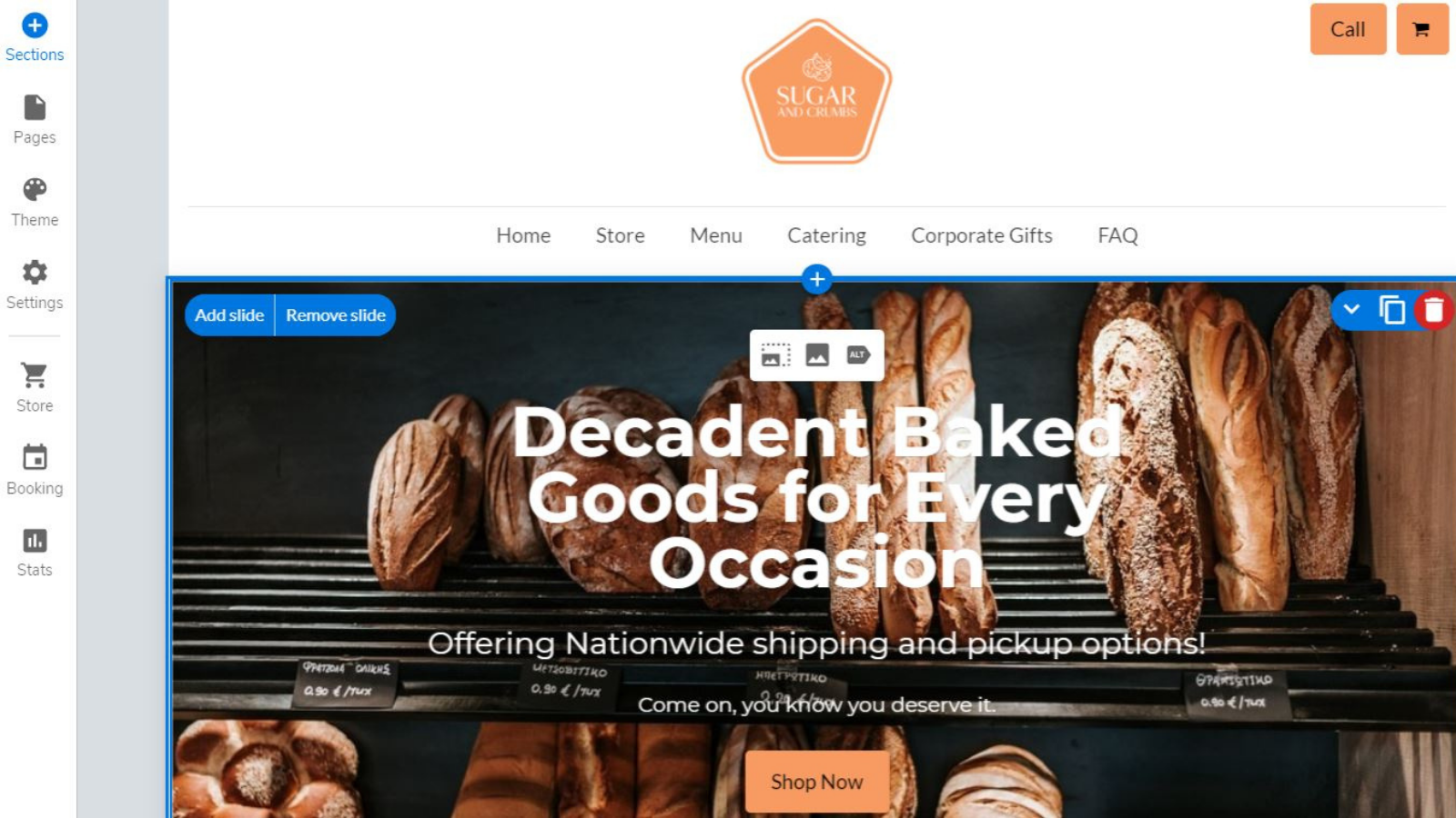 Build your very own branded ecommerce website.