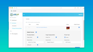 Configure LIVE Preview for appropriate Products only