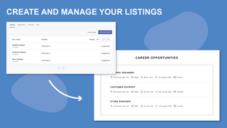 Create and manage your listings
