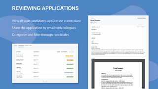 Application review process
