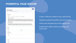 Powerful page editor