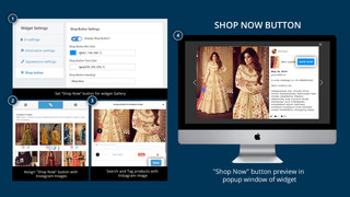 shop now button, tag products and much more