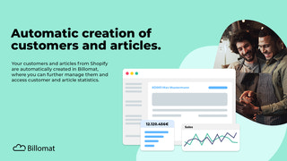Automatic creation of customers and articles in your CRM