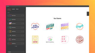 Demonstrate logos of your greatest clients