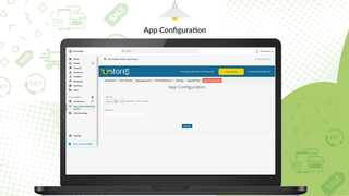 estore2app shopify mobile app configuration