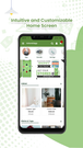estore2app shopify mobile app home screen