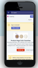 swatchy mobile app dashboard