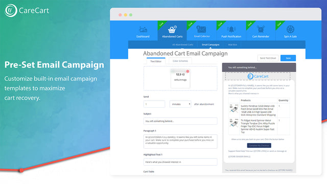 customize email campaign templates