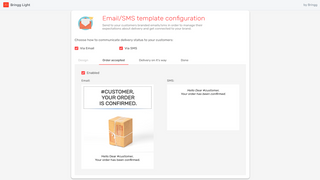 Set up E-mail notifications