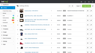 Keep a history of your eBay Products