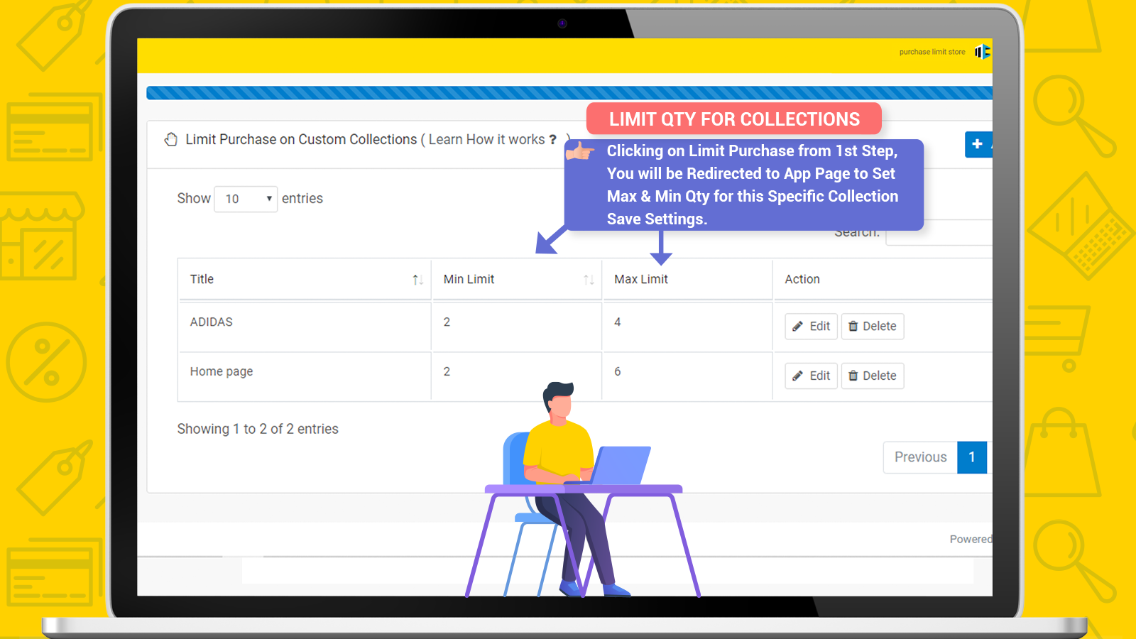 Purchase Limit For Collection Configuration 2 by MageComp