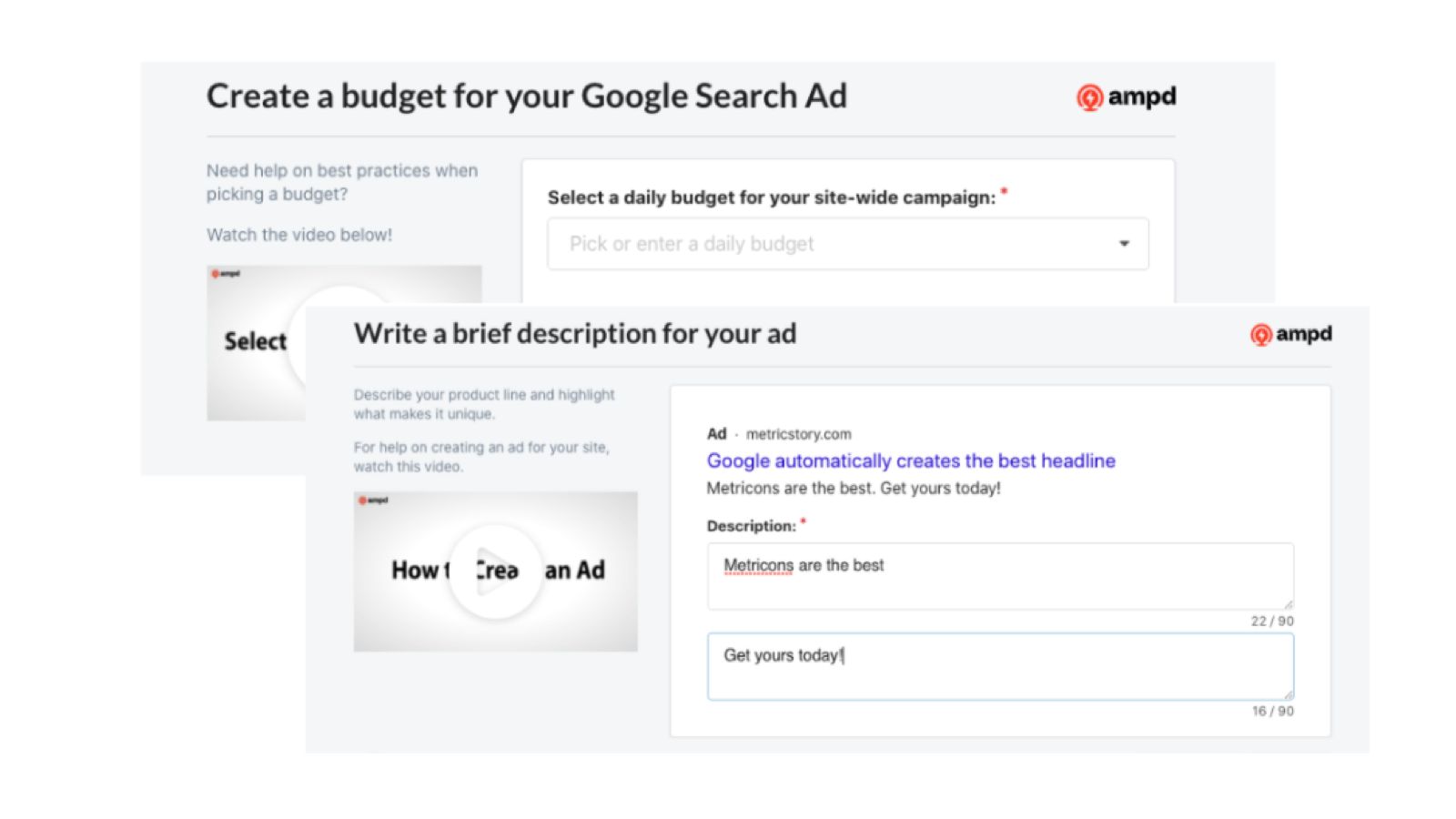 The fastest and simplest way to launch effective ads