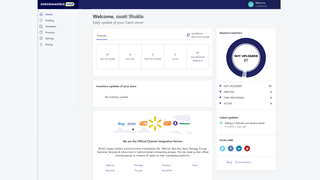 dashboard of catch.com.au Integration, Shopify Plus
