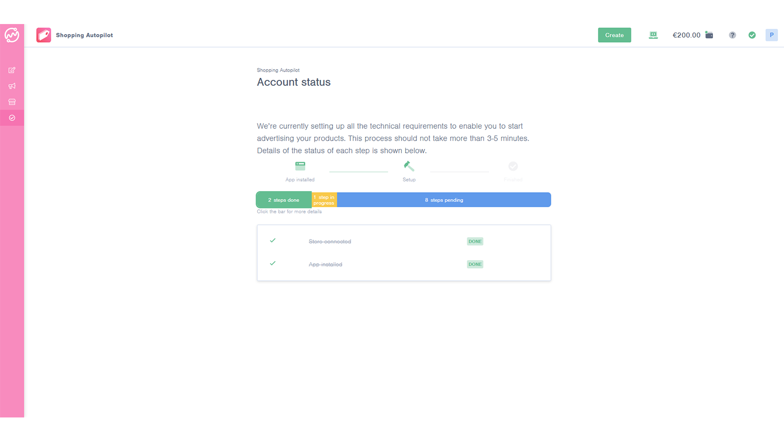 The Next Ad Shopping Autopilot Automated Onboarding