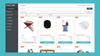 search products  List