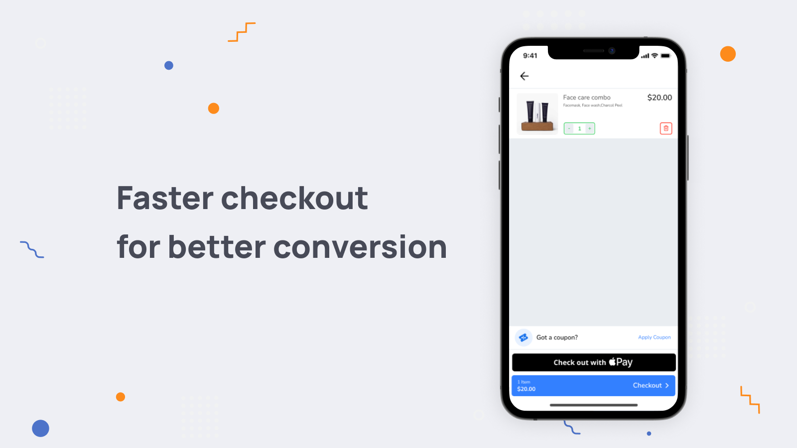 Faster checkout