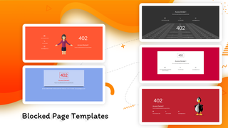 Blocked Page Templates